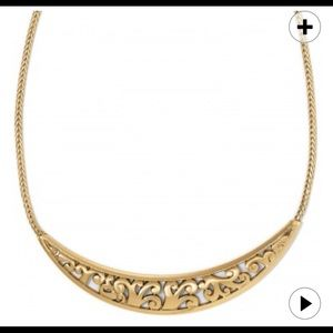 Brighton gold elora collar necklace new